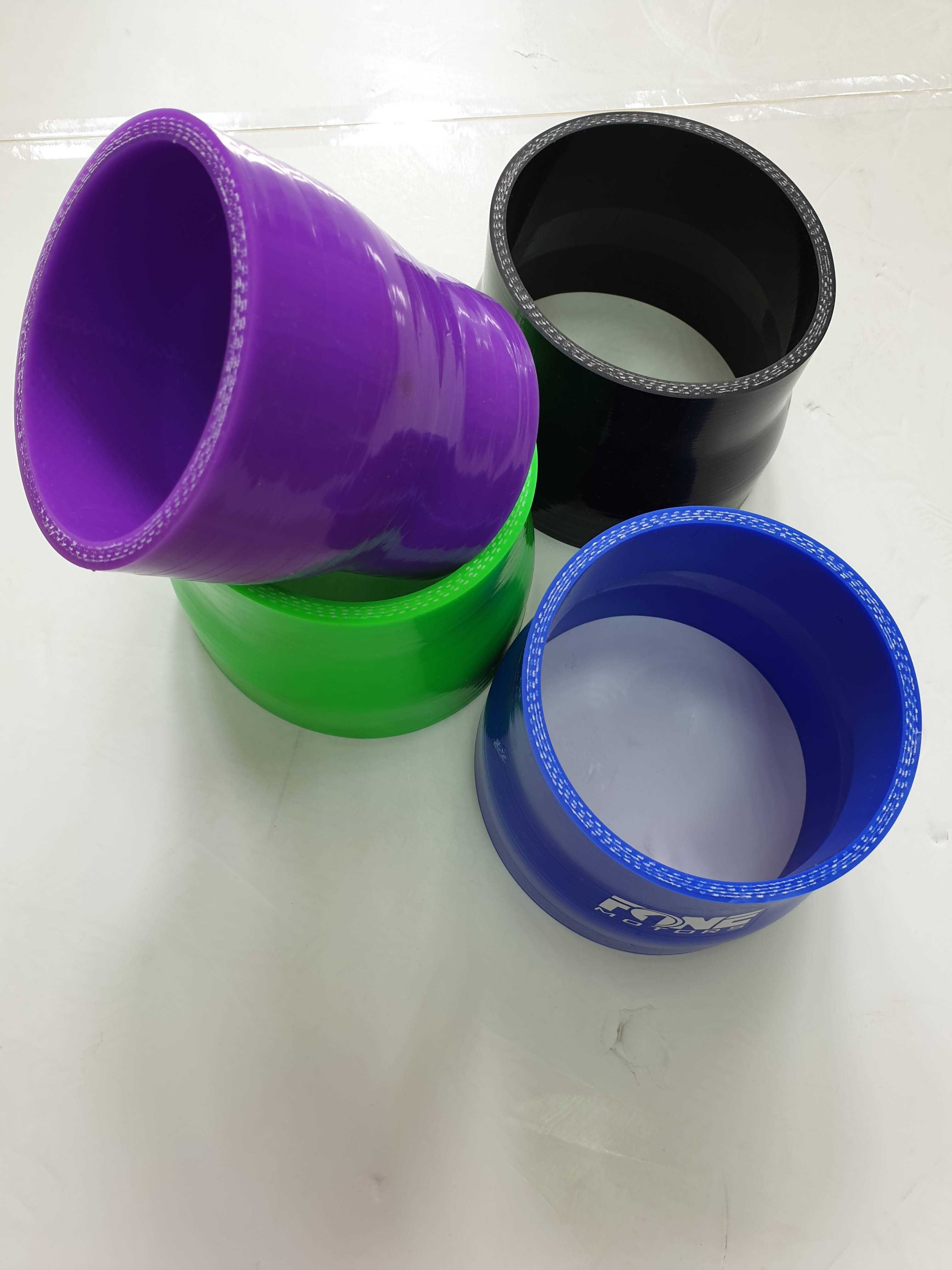 """SILICONE REDUCER 4"""" TO 4.5"""" (BLUE ONLY)"""