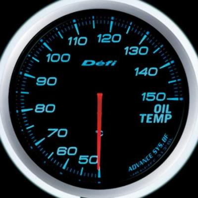 DEFI FUEL PRESSURE AND OIL TEMPERATURE GAUGES SET